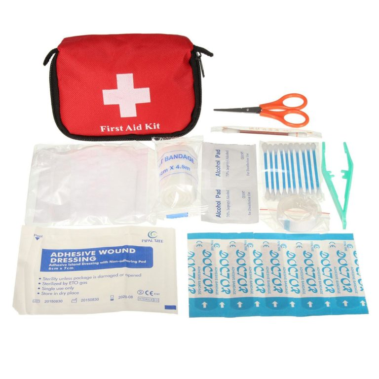 Kit de Primeros Auxilios para ir de Camping