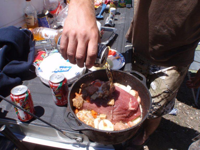 Comida para el camping