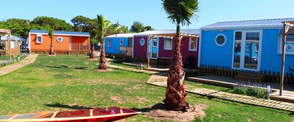 Resultado de imagen para camping 3 estrellas en cataluña