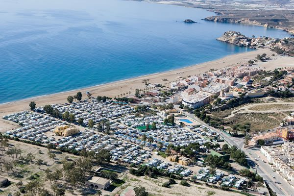 Camping Playa de Mazarron vista
