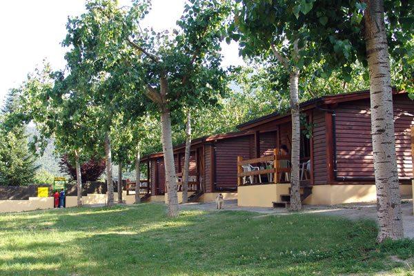 Camping El Jabali Blanco bungalows
