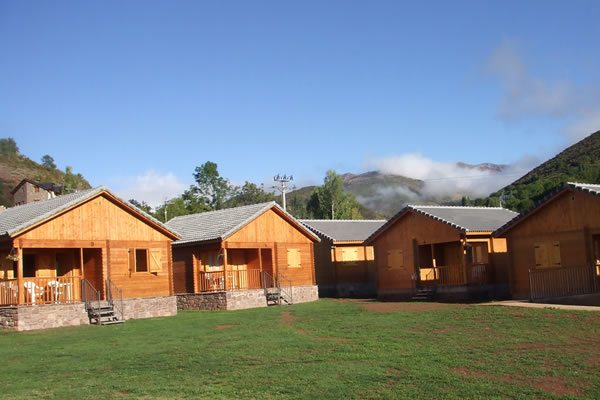 Camping Laspaules bungalows