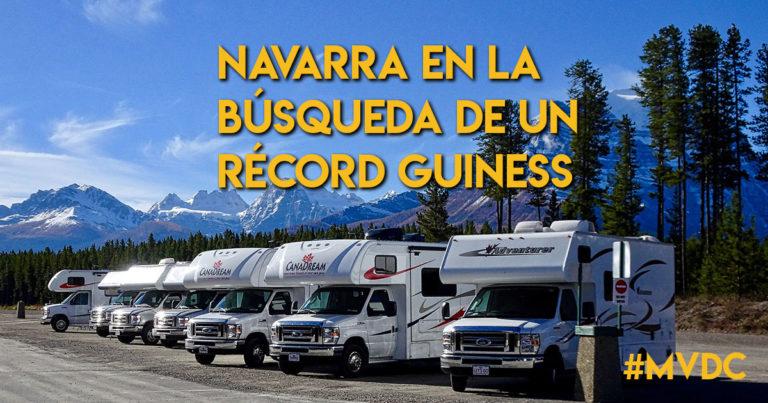 ¡TRABAJO EN EQUIPO! Navarra en la Búsqueda de un Récord Guiness