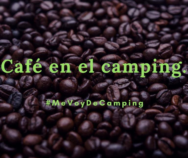 Café en el camping